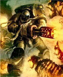 GK Purifier Squad combat