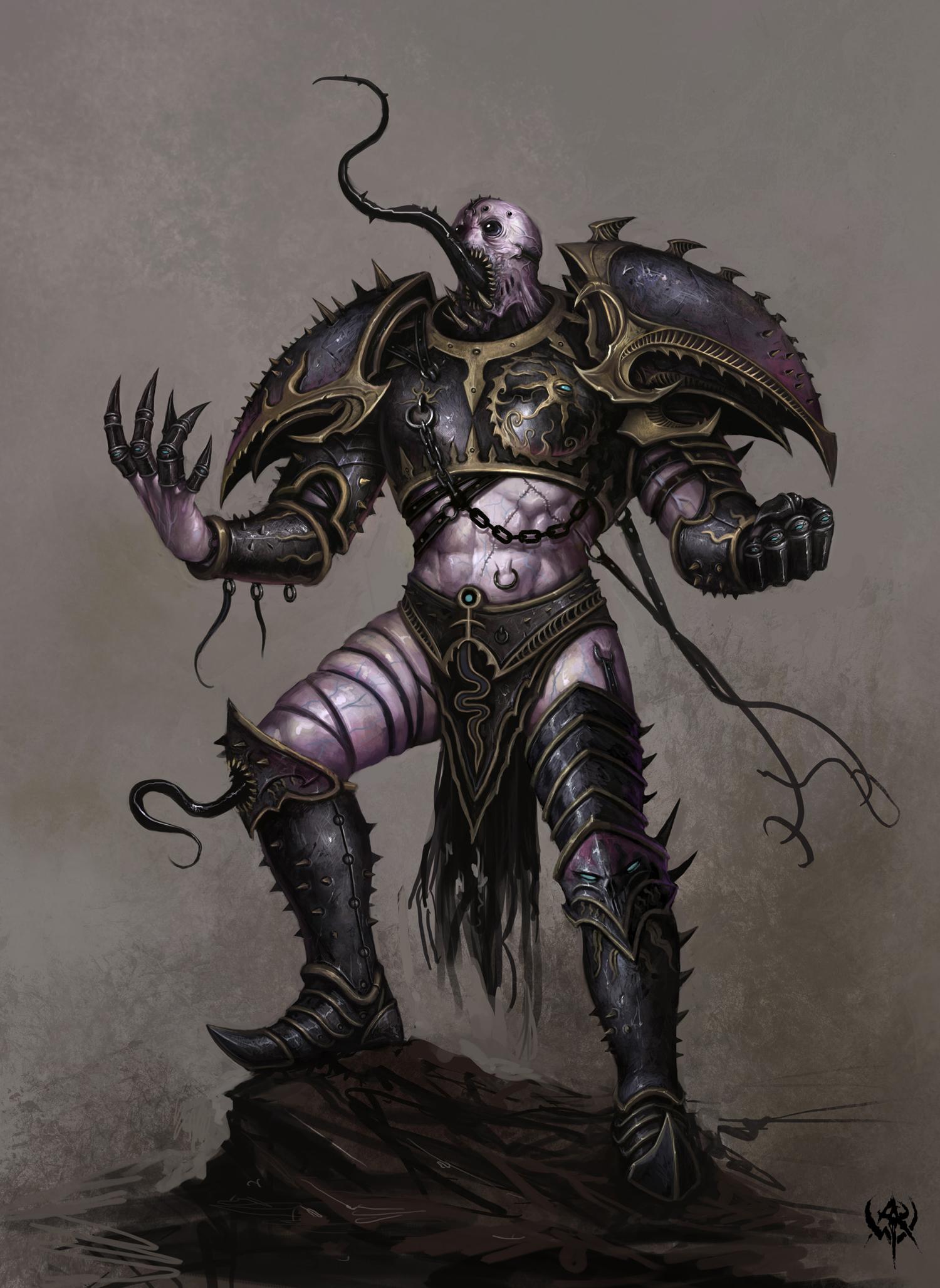 Slaanesh Warhammer 40k Fandom Powered By Wikia