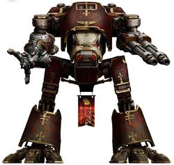 Legio Audax Warhound Titan