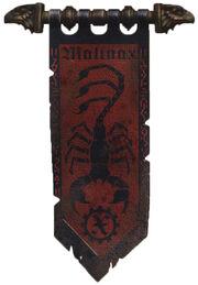Malinax Knight Banner 2