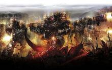 Legion of the Damned, Chaos, Daemons, art