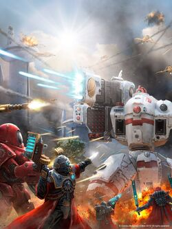 Warhammer-40000-фэндомы-Tau-Empire-Adeptus-Mechanicus-2624403