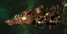 Ork Onslaught Attack Ship