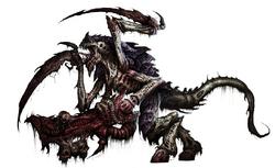 Tyranid Warrior Leviathan gun