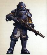 Auxilia of the 6633rd Solar Auxilia Cohort