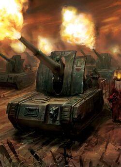 Basilisk Artillery Tank