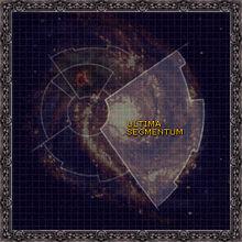 Galaxy map ultimasegmentum