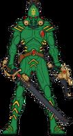 Stinging Shade Striking Scorpion