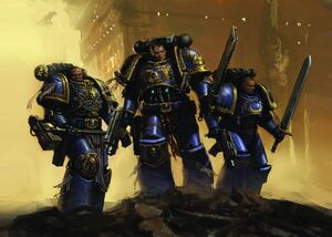 Grupo-space marine