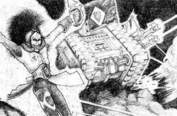 Land Raider Harlequin 1st Edition2