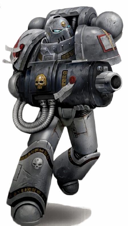 40k Grey Knights Terminator Psycannon