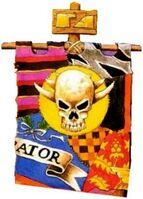 Death Skulls Banner Variant