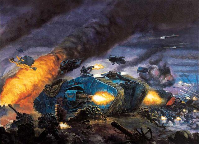 File:Land Raider Combat.jpg