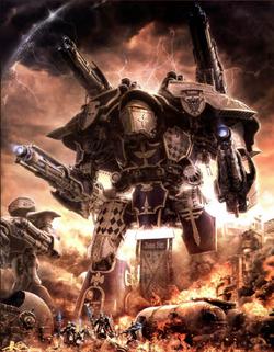 Legio Xestobiax Warlord Titan