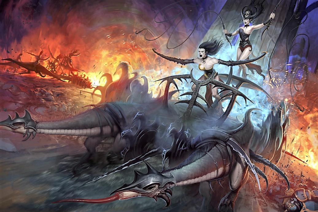 Seeker Chariot Of Slaanesh Warhammer 40k Fandom Powered By Wikia