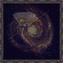 Galaxy map Eye of Terror