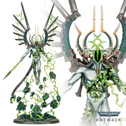 Mag'ladroth Void Dragon Necron C'tan Shard 9th Edition miniature