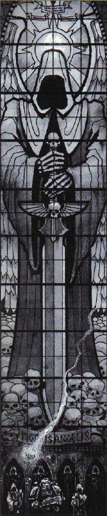 The Rock Stained Glass