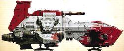 White Scars Thunderhawk Gunship