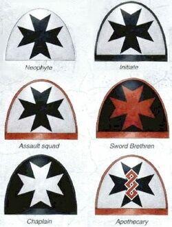 Black Templars Insignia