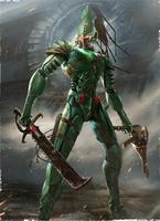 Жалящий скорпион арт2