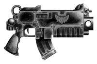Locke pattern boltgun