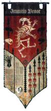 Legio Vulpa Reaver Banner Immitus Venor
