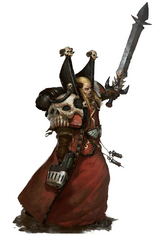Mephiston Combat