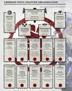 CF Chapter Organisation Chart