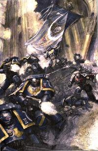 Ultramarines in Combat