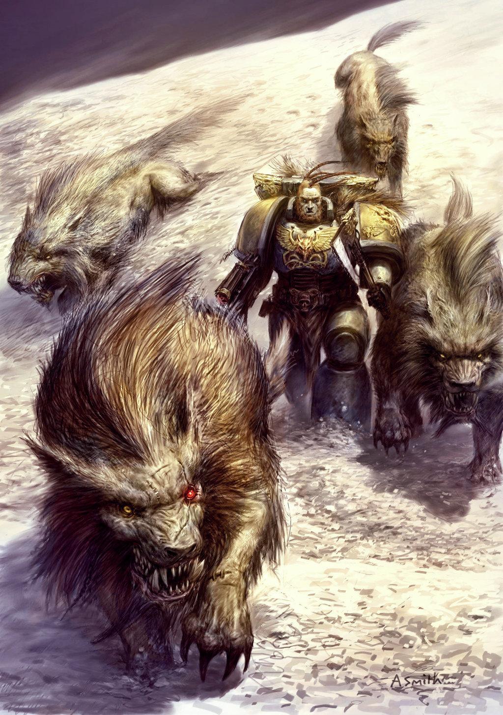 Fenrisian Wolf Warhammer 40k Fandom Powered By Wikia