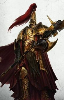 Adeptus Custodes guards of the Emperor