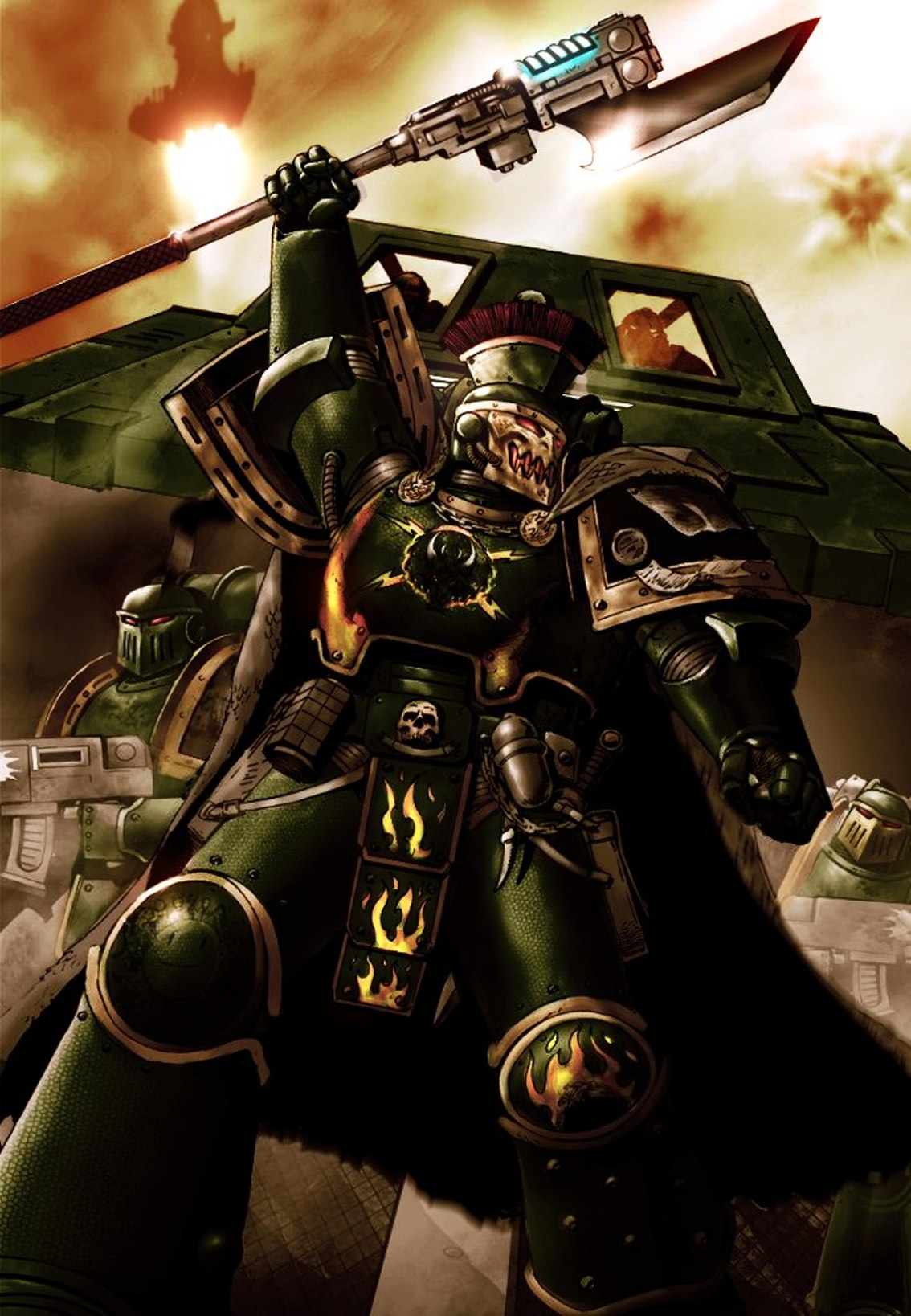pyre guard | warhammer 40k | fandom poweredwikia