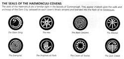 Seals of the Haemonculi Covens