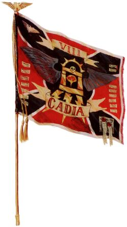 Cadian 8th Regimental Banner