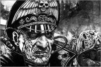 Commissar closeup