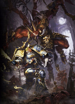Guilliman vs Skarbrand