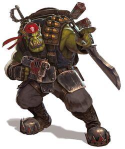 Blood axe klan kommando by diegogisbertllorens