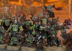 Ork Warband