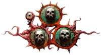 Mark of Nurgle skulls
