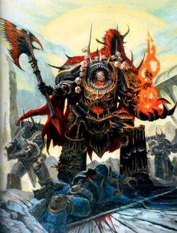 Chaos Lord Black Legion