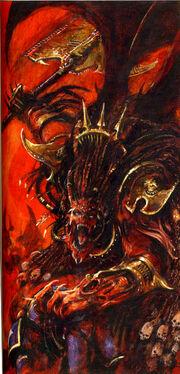 Daemon Primarch Angron