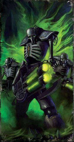 File:Necron Warriors come forth.jpg