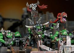 Ork Warboss Boyz