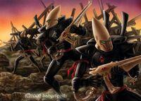 Ulthwe Black Guardian Defenders