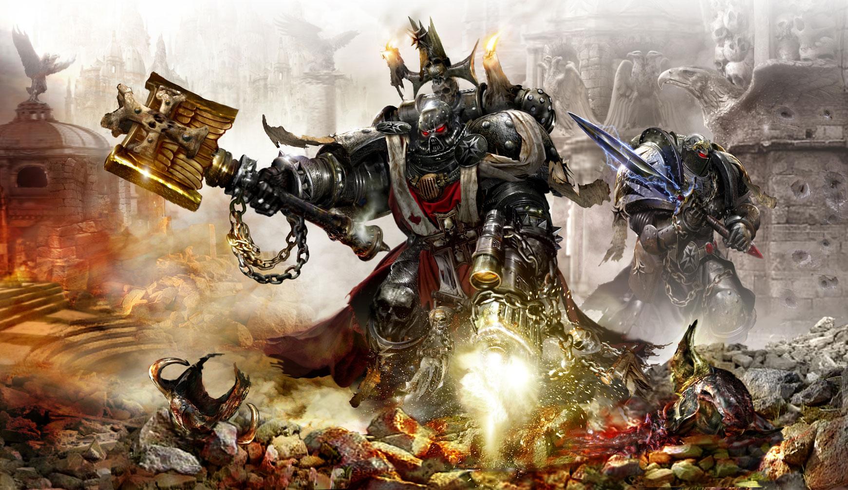 Warhammer 40k death company wallpaper - Chaplains In Battle