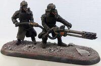 Death Korps Hvy Flamer Team