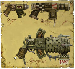 Ork Autoweapons
