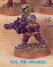 Vaal Asharian 1st Edition Iron Claw miniature