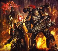 Black Legionnaire & Chaos Sorceror